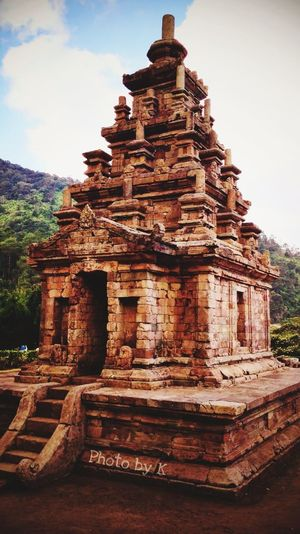 Oh darling let's be adventurers Summer Indonesia Scenery Indonesia Photography  INDONESIA Architecture Built Structure Place Of Worship History Sky The Past Ancient Building Nature Travel Destinations Tourism Travel