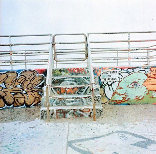 Koduckgirl Outdoors No People Sand Lubitel 166+ Ocean Beach San Francisco Square Beach Sea Film Multi Colored Graffiti Art