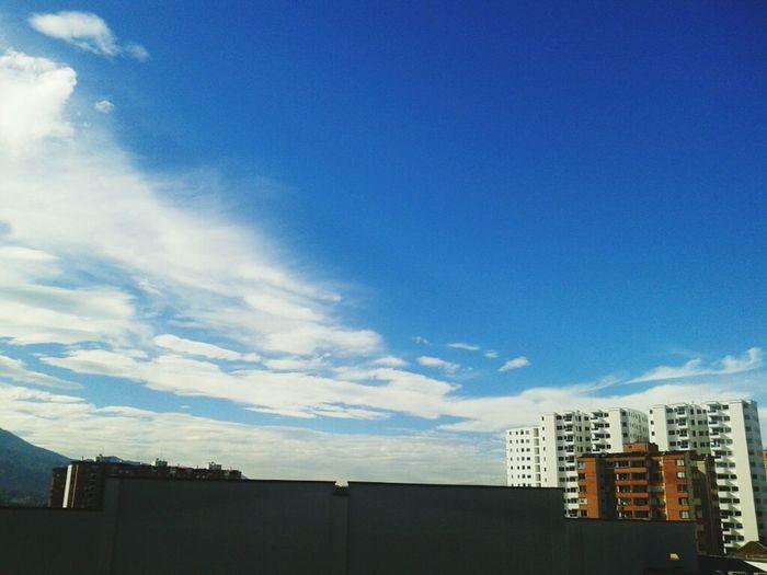 Beauty colombian sky... Colombiansky Be Happy