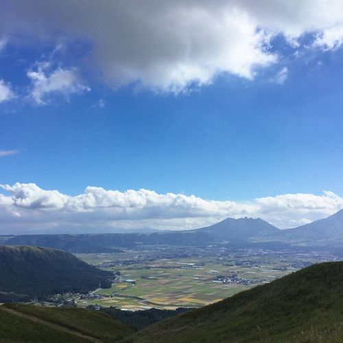 Beauty In Nature Cloud - Sky Day Japan Japanese Culture Landscape Landscape_Collection Mountain Mountain Range Nature No People Outdoors Scenery Scenics Sky Tranquil Scene Tranquility Water