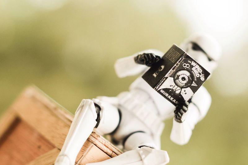 EyeEm here, who else are? First Eyeem Photo Star Wars Toy Photography Haruki Murakami Book Stormtrooper