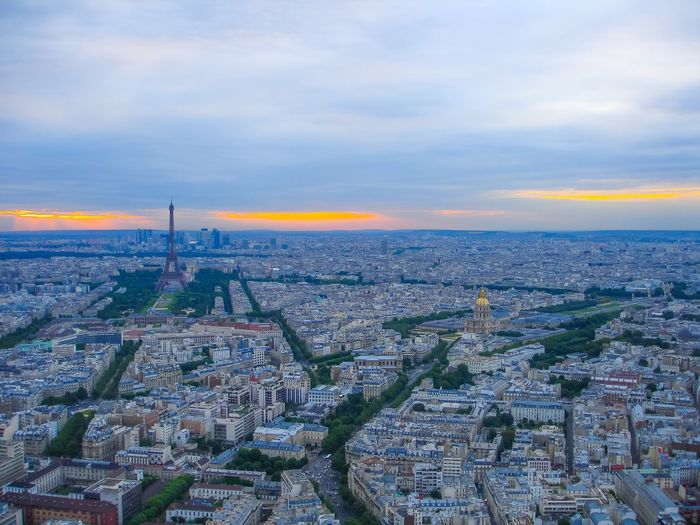 France Paris Paris City View Europe Beautiful Sky Effel Tower Dslrphotography Tourist Attraction  Sunset