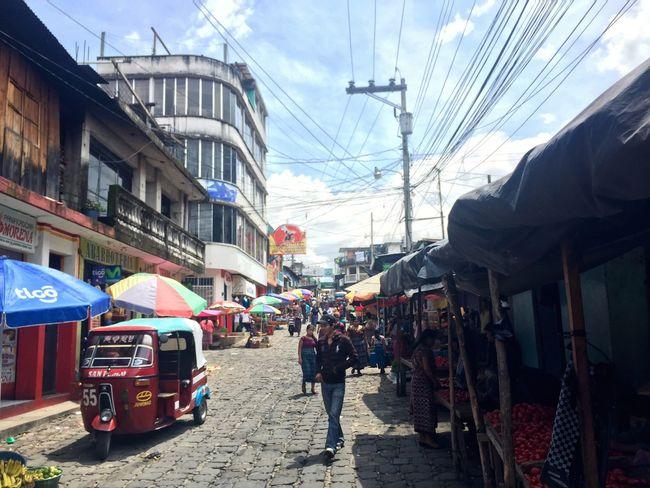 Attitlan San Pedro Guatemala San Pedro La Laguna Marche Mercado Market Tuc-tuc