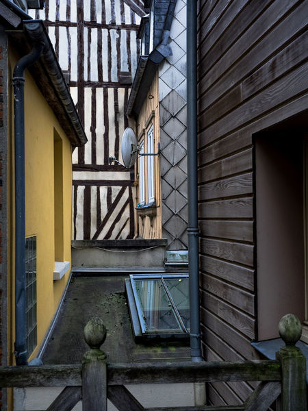 Absence Architecture Bad Condition Building Built Structure Chair Closed Door Empty Entrance Exterior Flooring France Geometry Glass - Material Honfleur Indoors  Obsolete Old Old-fashioned Symmetry Wall Wall - Building Feature Window