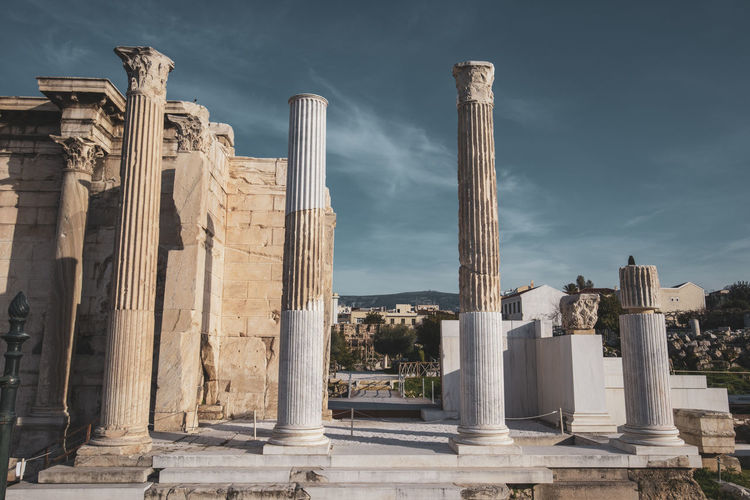 Athens Athens Greece Athens, Greece Architecture Architectural Column Built Structure History The Past Sky Ancient Civilization Ancient Old Ruin Travel Destinations Tourism Travel Nature No People Day Building Building Exterior Archaeology Old City Outdoors Ruined