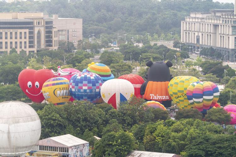 Hot Air Ballon fiesta at Putrajaya, Malaysia Nature Hot Air Balloon Putrajaya Malaysia ASIA Fiesta Destination Tourism Landmark Attraction