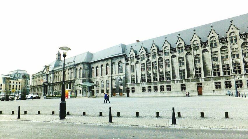 Palais des Princes Eveques Architecture Building Exterior Built Structure City Outdoors Day Building Photography Grey Belgium Architecture Belgium Belgium♡ in Liège, Belgium