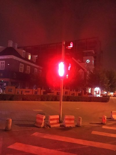 Red light at 3am... Give me a break. Traffic Lights Street Light Midnight Red Light Roadblock Road Signal Architecture Built Structure Iphonephotography City Street Electric Light Outdoors Taking Photos Check This Out Taking Pictures EyeEm Best Edits Eyeem Market Capture The Moment GimmeABreak The Week On EyeEm Beijing China EyeEm Market ©