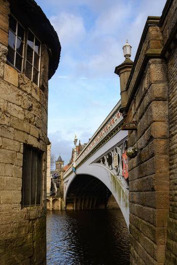Architecture Bridge - Man Made Structure City Cloud - Sky History Lendal Bridge No People Outdoors River Travel Destinations Water Yo