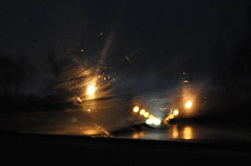 Close-up Dark Defocused Electric Light Focus On Foreground Glowing Illuminated Light Light Beam Lighting Equipment Lit Nature Night Nightimephotography No People Road Selective Focus Sky