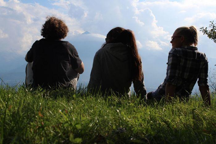 Familyy Enjoying The View The Eye Em Facebook Cover Challenge Friends