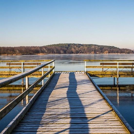 Steg Winter Wintertime See Sea Cold Kalt Mvliebe Usedom Inselfotograf Mecklenburgvorpommern Benz