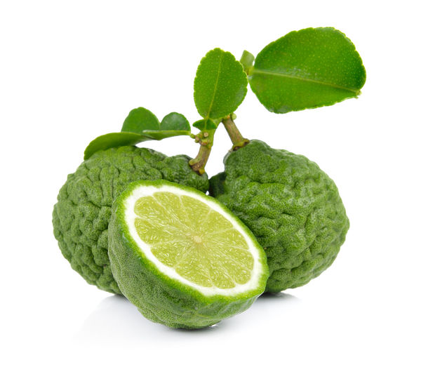 Bergamot Studio Shot Green Color White Background Freshness Food And Drink Leaf Food Plant Part Indoors  Cut Out Wellbeing Close-up No People Still Life Healthy Eating Fruit Vegetable Citrus Fruit Plant Nature