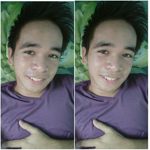 Show only to me your reality. Violetshirt Selfie ProudToBeMe Pinoygay Gaypinoy Pinoy Violetshirt Single Sunday