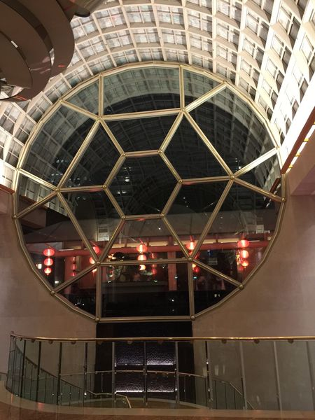 Architecture Built Structure Illuminated Architecture Ritz Singapore Interiors Indoors  Building Atrium No People City Night