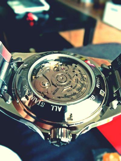 Movimiento Nh35a Japones con parada de segundero, remonte manual y 24 rubies Invicta Watches 8926
