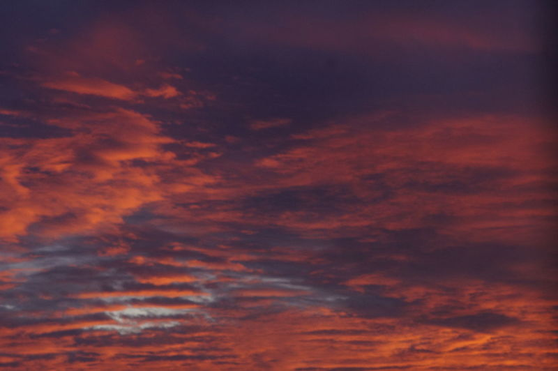 Abstract Backgrounds Beauty In Nature Cloud - Sky Cloudscape Dramatic Sky Full Frame Idyllic Low Angle View Majestic Nature Night No People Orange Color Outdoors Scenics Sky Sky Only Sunset Tranquil Scene Tranquility
