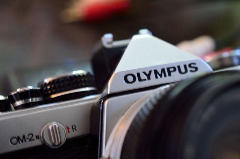 Analog Camera Close-up Detail Indoors  Olympus OM2n Photography Themes Single Object Still Life Technology Lieblingsteil