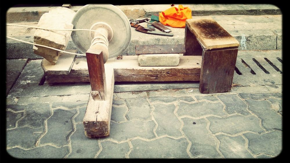 Maldivian Traditional Honing Tool