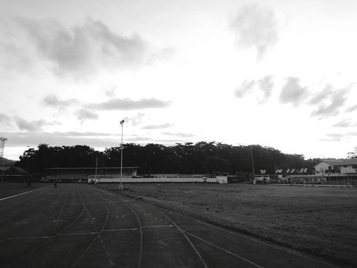Ka mingaw Koronadal City Empty Grass Cloud Sky Street Light Day Outdoors Playing Field SONYXPERIAX Eyeem PhilippinesKoronadal Marbel EyeEmBestPics Sonyxperia Xperiax Eyeemphoto EyeemPhotos EyeEm Best Edits Week Of Eyeem EyeEm Gallery South Cotabato Koronadal