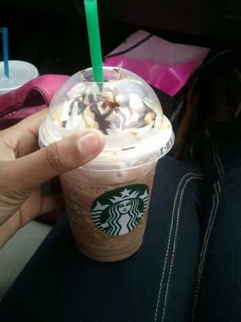 What im drinking . frap ! Starbucks