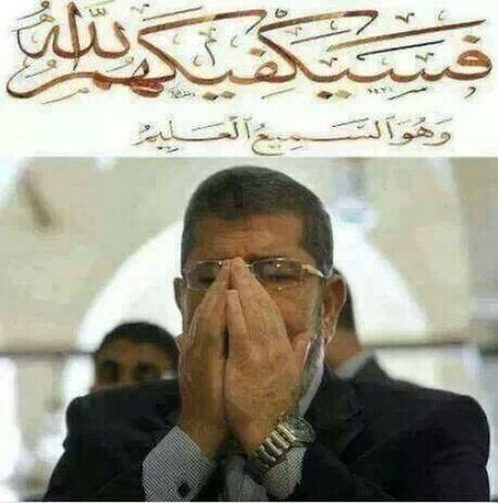 أليس الله بكاف عبده......بلىEgypt Anti Militery COUP