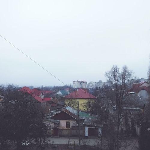 Moldova Chişinău City Morning Calmness