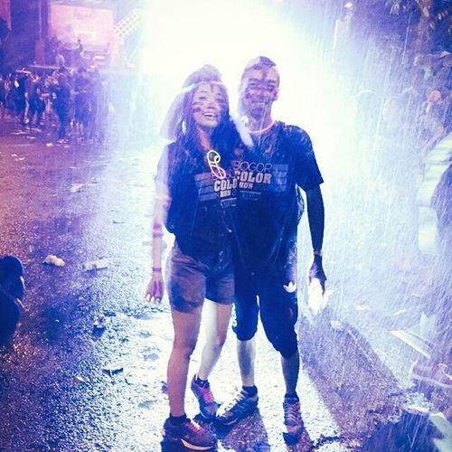💃💃💃😎😎💏💋💋🎈🎈Colorrun2015 Gorpadjajaran GAD Lydiamoment Fun Happy Rumahfour Likeforlike Colorrunbogor2015