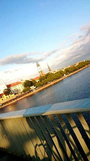 View Sunset Enjoying Life Cycling Motobecane Latvia Riga