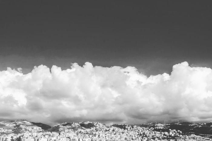 City Cityscape Sky Cloud - Sky Cloudscape Skyline Urban Skyline Urban Scene Settlement Residential District Fluffy