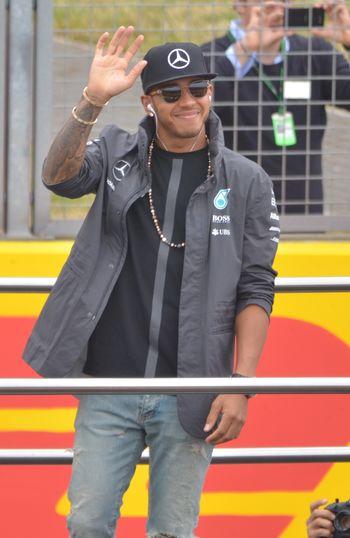 British Grand Prix F1 Lewis Hamilton Real People World Champion