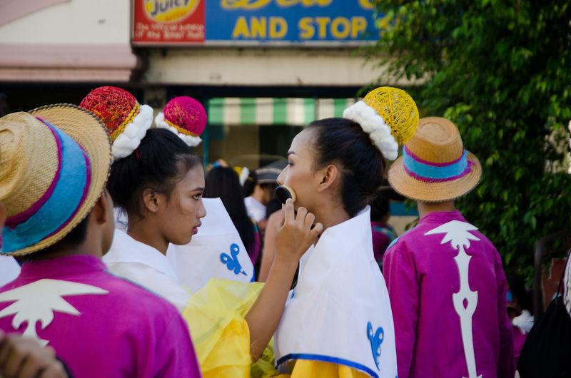 Bangus Beauty DAGUPAN CITY Dance Festival Make-up Pangasinan Pangasinan, Philippines Parade Woman