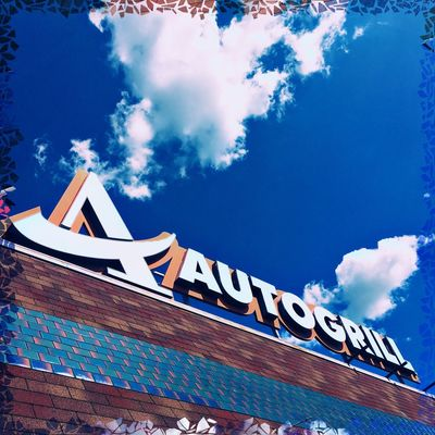 Architecture Blue Building Exterior Built Structure Capital Letter Cloud - Sky Communication Day Low Angle View No People Outdoors Roof Sky Text Western Script