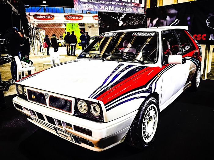 Rally Lancia Martini Car Vintage Popular Photos Beauty IPhoneography Motor Show Made In Italy ???