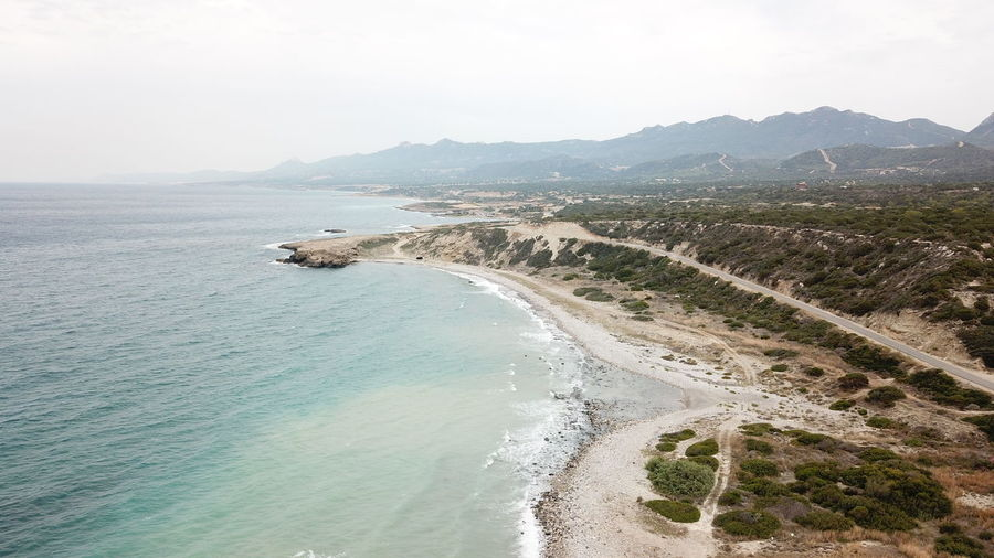 Bay Beach Beauty In Nature Day Environment Land Landscape Mountain Mountain Range Nature No People Non-urban Scene Outdoors Scenics - Nature Sea Sky Tranquil Scene Tranquility Travel Water