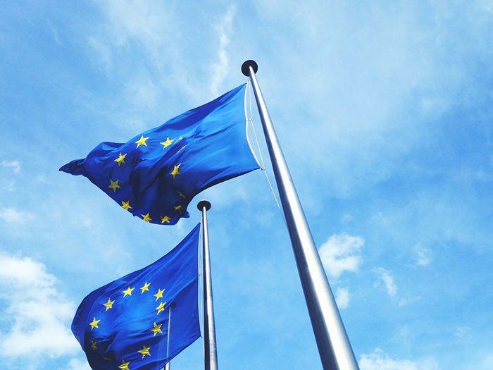 Europe Eu Europeanunion Flag Brussels Sprouts Blue Skies Open Edit EyeEm Bestsellers