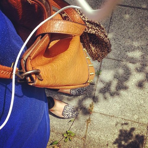 A little Leo in my Life today.....meow :-) Instafashion Leoprint Bag Loafer Lovefashion Girl Styling Fashinista HappyWithMyLife Shoesoftheday