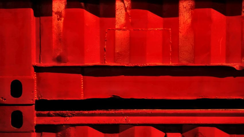 Container Industry Built Structure Full Frame Interface Pattern Red Steel Textured  EyeEmnewhere See The Light EyeEm Ready   EyeEm Ready