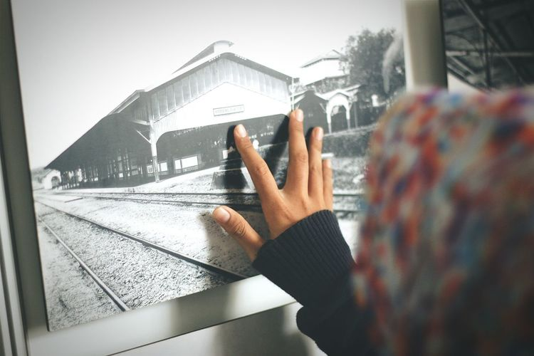 EyeEmNewHere Hello Museum Gallery Photographic Memory Train Station Train Girl
