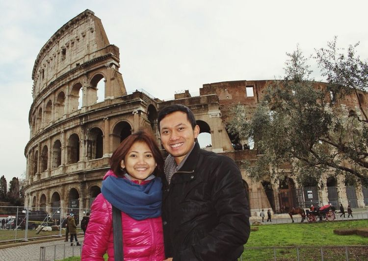 The Colosseum, Rome Vacation Honeymoon Love Latepost