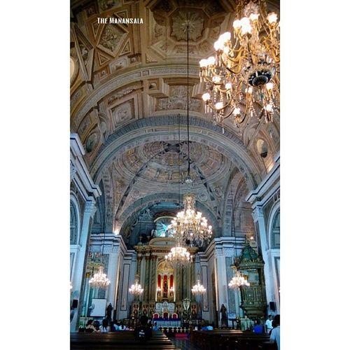 Interior Visitaiglesia2014 Lenten Travel Themanansala architecture nofilter holyWednesday