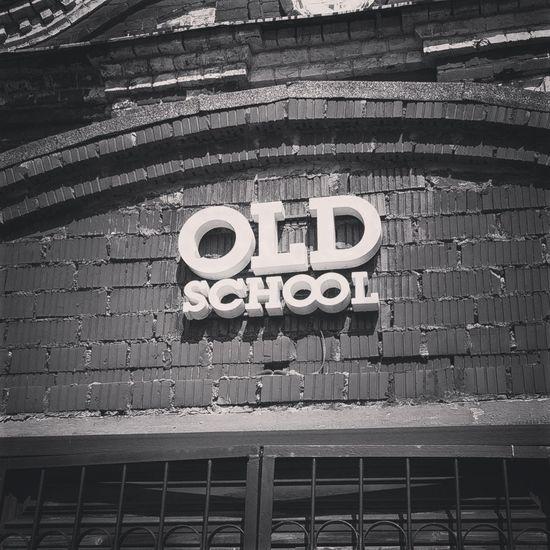 Old school No