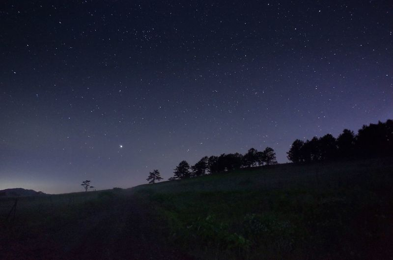 Star Relaxing Silence Ricoh Gr Nightscape Snap Nightphotography Blue Midnight