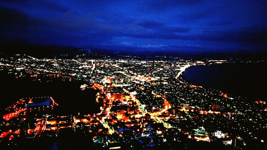 Flying High Japan Photography Japan City Cityscape Night Beautiful Vacations Nightview Night Photography Nightscape Hakodate-shi 函館山展望台