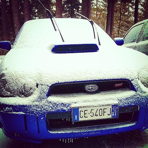 Subaru Impreza Auto Stradale fast innevata fullofsnow velocità car yeah Cool cute beautiful