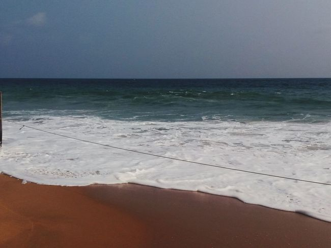 Being A Beach Bum Sunshine Enjoying The Sunset Poovar Goldenbeach Wonderful Beach Wonderful View The KIOMI Collection Blue Wave EyeEmNewHere Perspectives On Nature Be. Ready.