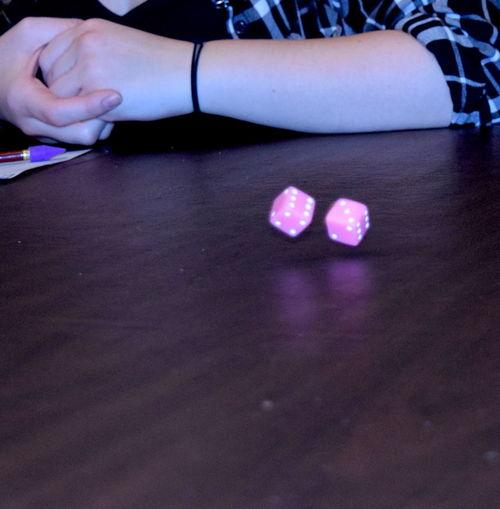 Fun Hands Kids Yatzee Dice Game Play Table