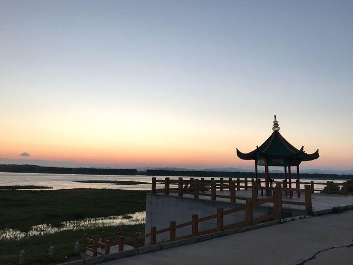 Water Sunset