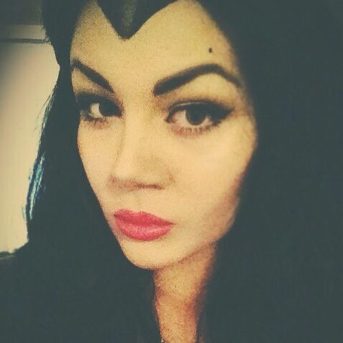 Make up malefique ❤️ Maleficent Make Up Mua Personnage