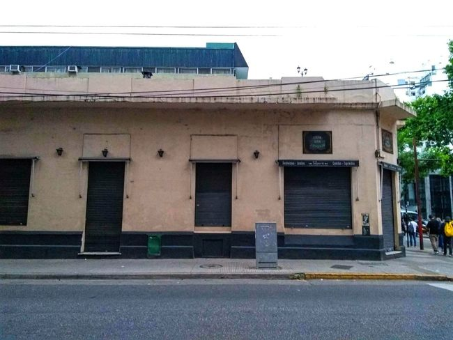Buenos Aires City Politics And Government Business Finance And Industry Façade Store Street Architecture Building Exterior Built Structure